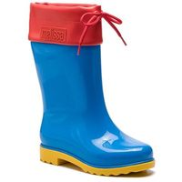 Kalosze - rain boot inf 32423 blue/red/yellow 53318 marki Melissa
