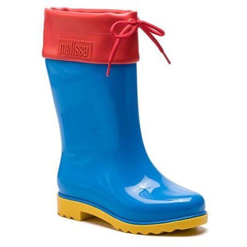 Kalosze MELISSA - Rain Boot Inf 32423 Blue/Red/Yellow 53318, kolor niebieski