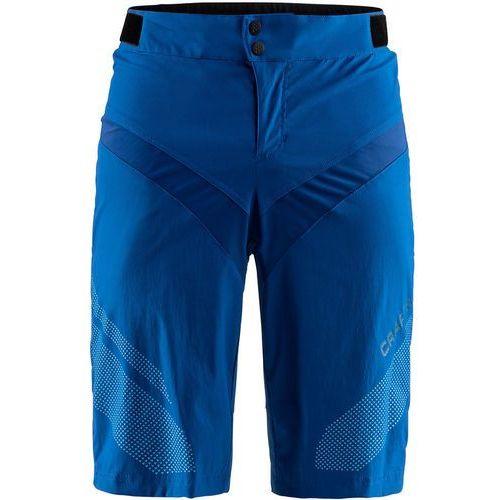 Craft route xt spodnie rowerowe mężczyźni niebieski xl 2018 spodenki rowerowe