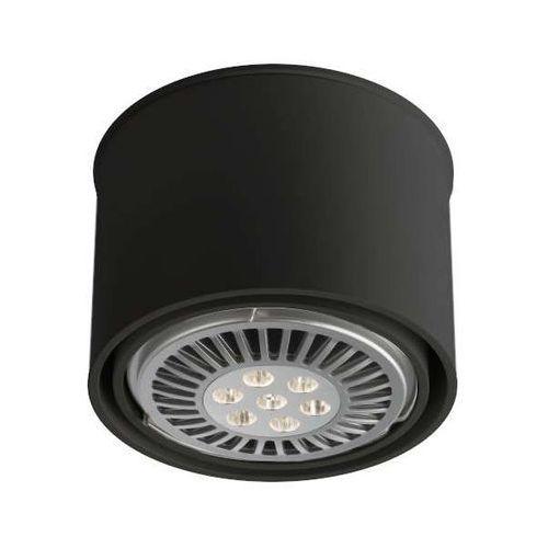Spot LAMPA sufitowa MIKI 1117/GU10/CZ Shilo natynkowa OPRAWA DOWNLIGHT czarny