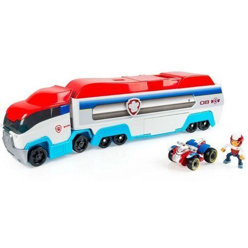 Psi patrol transporter ciężarówka + ryder + quad marki Spin master