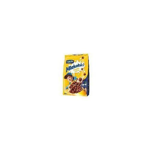 Zbożowe chrupki o smaku czekoladowym Mlekołaki Kulki Choco 250 g Lubella
