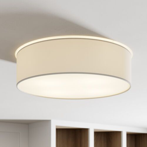 Josefina Sufitowa Spot-Light 4764812 Tkanina/Akryl, kolor Biały