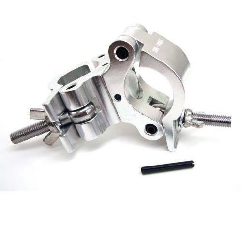 pro swivel clamp - obejma - hak aluminiowy - podwójna obejma na rurę fi 50mm marki Duratruss