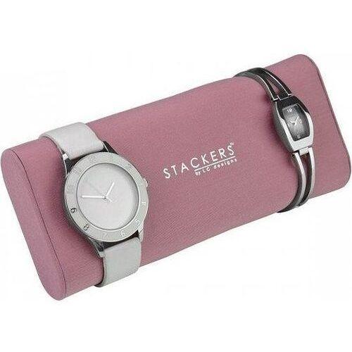 Stackers Poduszka na zegarki różowa