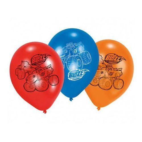 Balony urodzinowe Blaze i Megamaszyny - 23 cm - 6 szt (0013051680879)