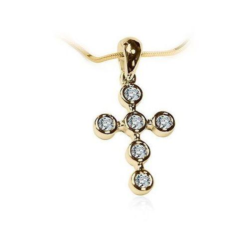 Staviori Złoty krzyżyk wzd1668 - diament