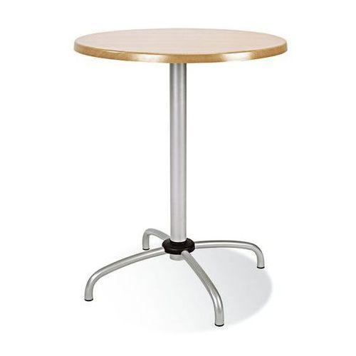 Nowy styl Podstawa stołu cafe table chrome