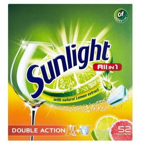 Unilever SUNLIGHT Tabletki do zmywarki (668821) Darmowy odbiór w 20 miastach!, 668821