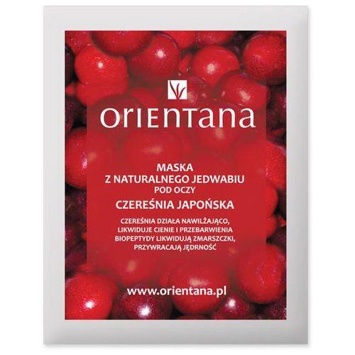 Orientana - Maska tkaninowa pod oczy - CZEREŚNIA JAPOŃSKA, 5902596416263
