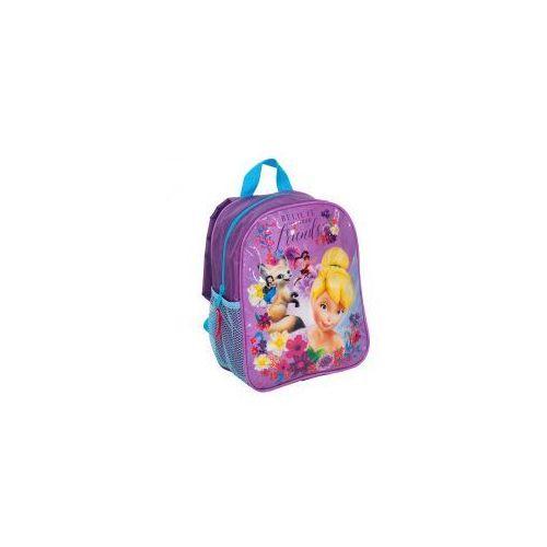 Plecaczek plecak mały WRÓŻKI Dzwoneczek DWN-303, kolor różowy