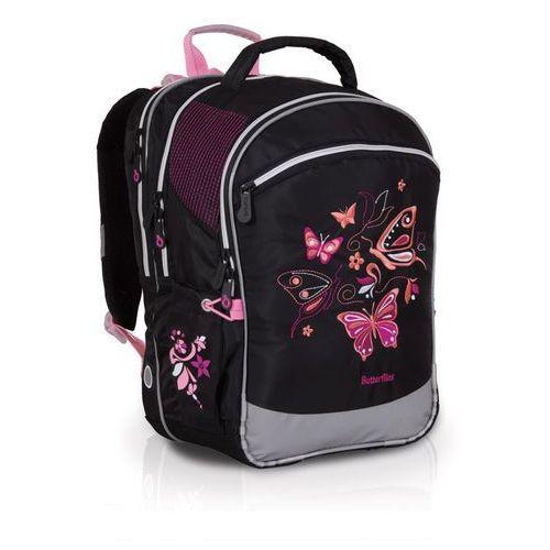 Plecak szkolny Topgal CHI 710 A - Black, kolor czarny