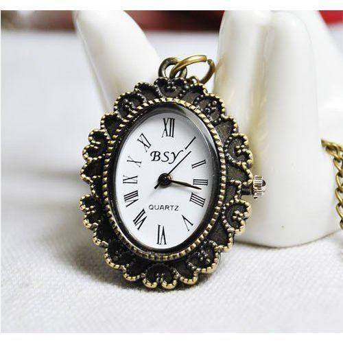 Zegarek w stylu naszyjnika - retro / Walewska / 2 - produkt z kategorii- Naszyjniki i korale