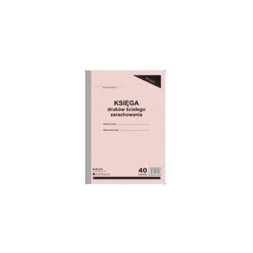 Księga druków ścisłego zarachowania [pu/k-210] marki Firma krajewski