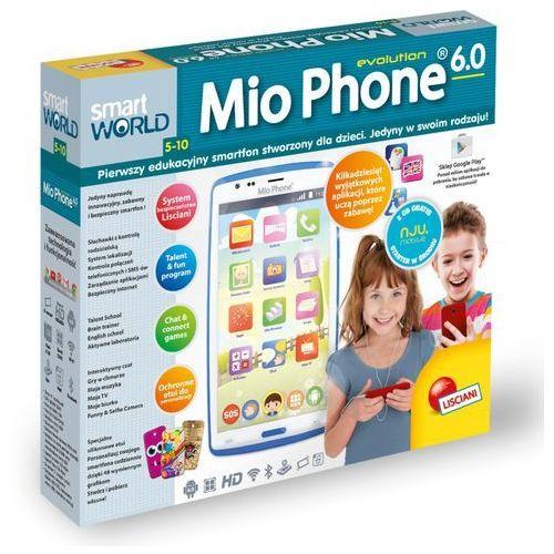 Mio phone niebies-pierwszy edukacyjny smartfon dla dziec (gxp-565146) marki Liscianigiochi