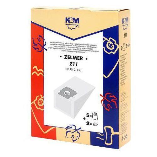 K&m Worek do odkurzacza z11 (5 sztuk) (5907525800434)