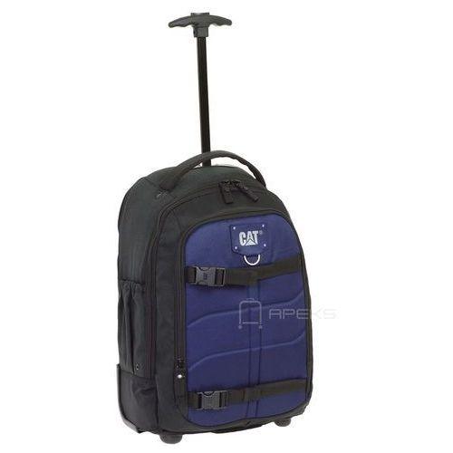 Caterpillar DERRICK II plecak na kółkach 52 cm / torba CAT / Black / Navy - Black / Navy