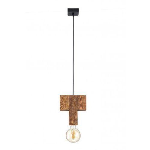 Lampa wisząca drewniana Montalbo Mabrillo- kolor dąb rustykalny satynowy