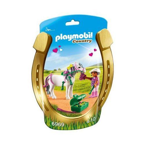 Playmobil COUNTRY Kucyk z ozdobą - serduszko 6969
