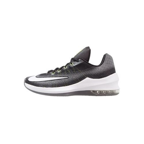 Nike Performance AIR MAX INFURIATE Obuwie do koszykówki black/white/volt/cool grey (0886548130887)