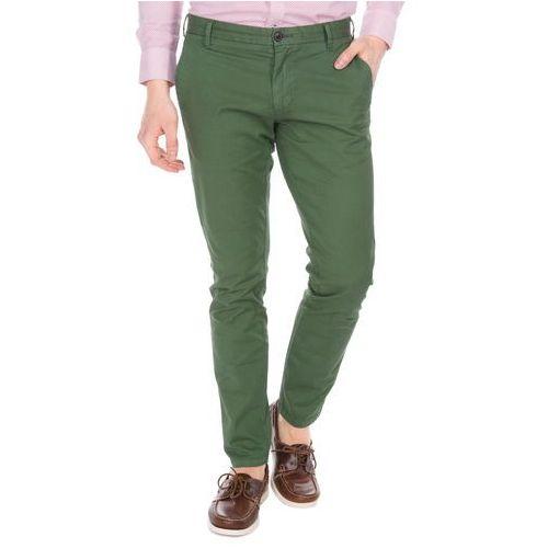 Pepe Jeans James Jacquard Spodnie Zielony 32/34, kolor zielony