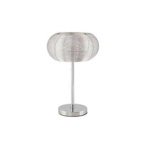 Rabalux Lampa lampka oprawa stołowa meda 1x60w e27 srebrna 2907
