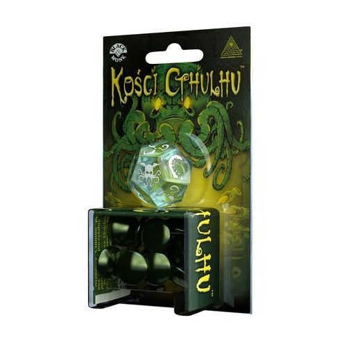 Black monk Kości cthulhi - gra kościana  (5901549119367)