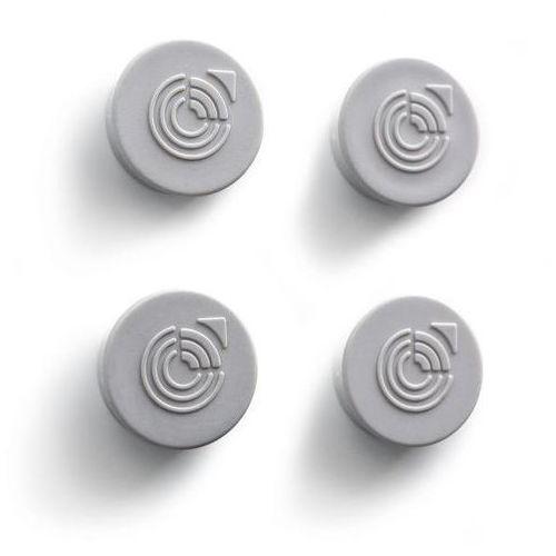 Schaar-design Magnes do gabloty, okrągłe, Ø 25 mm, szare, opak. 20 szt. okrągłe, Ø 25 mm, kolo