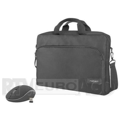Torba do laptopa z myszą bezprzewodową NATEC Wallaroo (5901969412772)