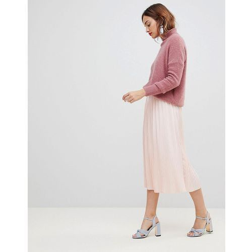 Y.A.S Pleated Midi Skirt - Pink