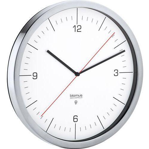 Blomus Zegar ścienny sterowany radiowo crono 24 cm biały (4008832658945)