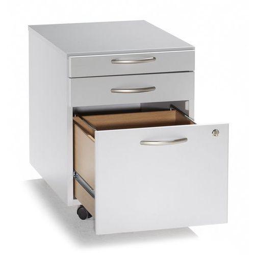 Unbekannt Vera - kontener na kółkach,1 szuflada na przybory, 1 szuflada, 1 kartoteka wisząca