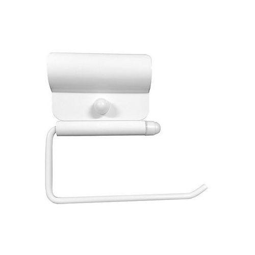 Uchwyt na papier toaletowy do poręczy dla niepełnosprawnych - biały