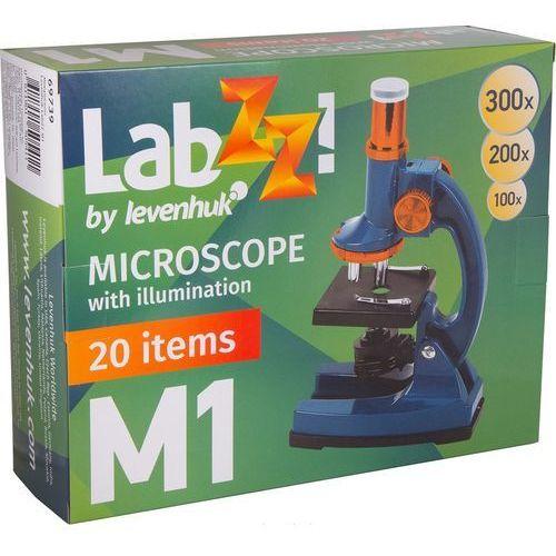 Levenhuk Mikroskop labzz m1 granatowy