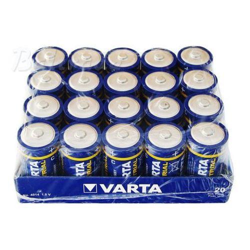 20x Varta Industrial LR14/C 4014 (taca)