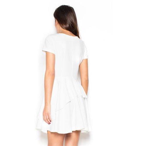 Sukienka Model K367 Ecru
