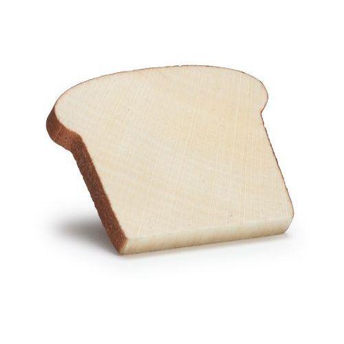 Drewniana kromka chleba tostowego do zabawy w sklep - zabawki dla dzieci