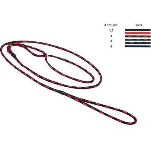 Chaba Ringówka 6 mm czarno-czerwona