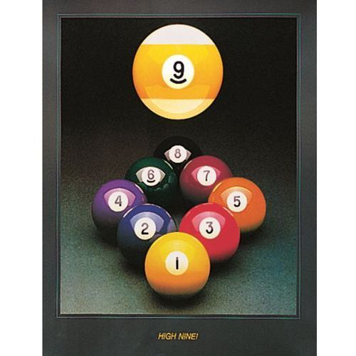 Plakat high nine 61*77 cm marki Dynamic billard