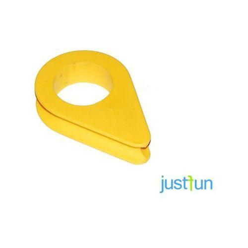 Plastikowa kausza - żółty