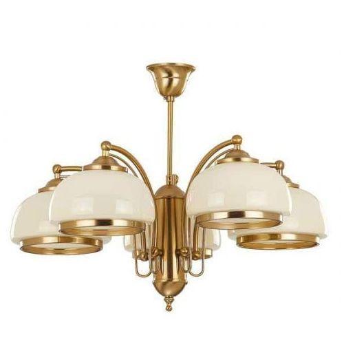 Lampa wisząca Alfa Lord 10445 żyrandol oprawa 5x60W E27 patyna (5900458104457)