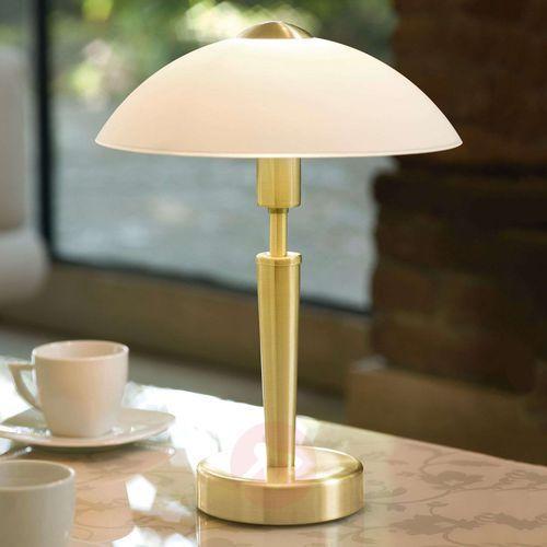 EGLO 87254 - Lampa stołowa SOLO 1 1xE14/60W mosiądz, 87254