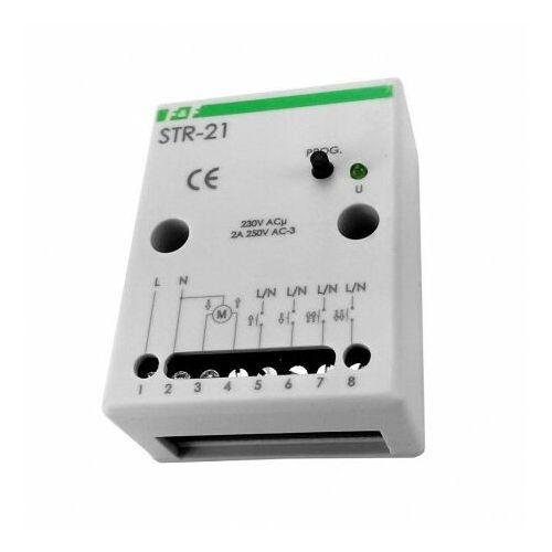 F&f Sterownik rolet str-21 230v dwuprzyciskowy natynkowy / w kasecie rolety 1511