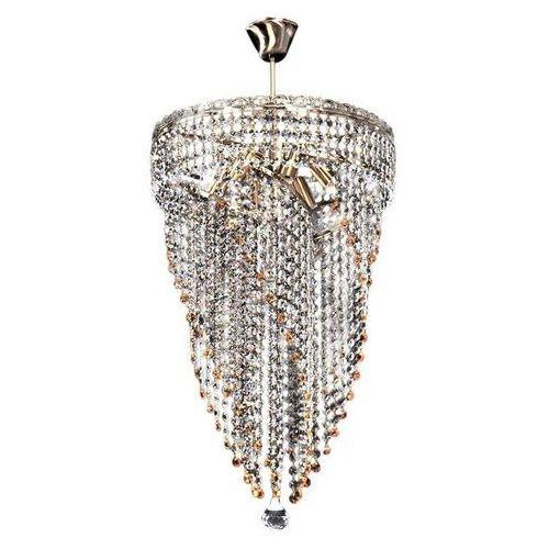 Lumina deco Żyrandol kryształowy binnardi d40 ldp 10150 - - sprawdź kupon rabatowy w koszyku