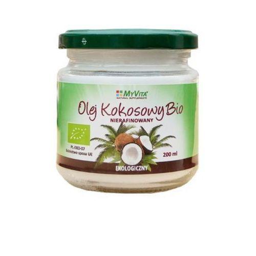 Olej kokosowy nierafinowany EV BIO - 200 ml