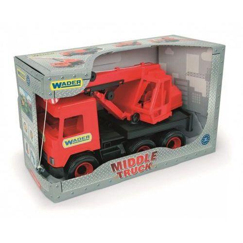 Middle Truck Dźwig czerwony w kartonie