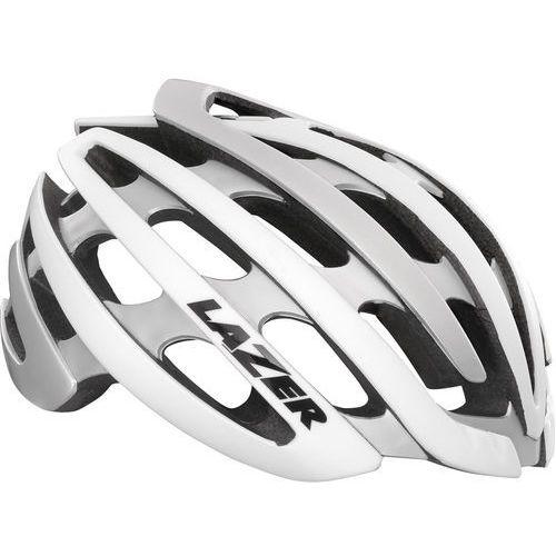 z1 kask rowerowy mips biały/srebrny s | 52-56cm 2018 kaski szosowe marki Lazer