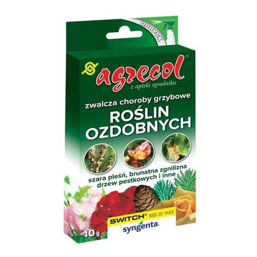 Środek grzybobójczy switch 62,5 wg do roślin ozdobnych 10 g marki Agrecol