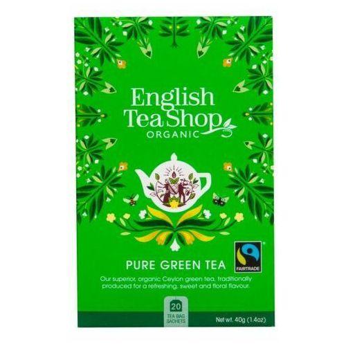 English tea shop bio zielona herbata z certyfikatem fair trade 40 g