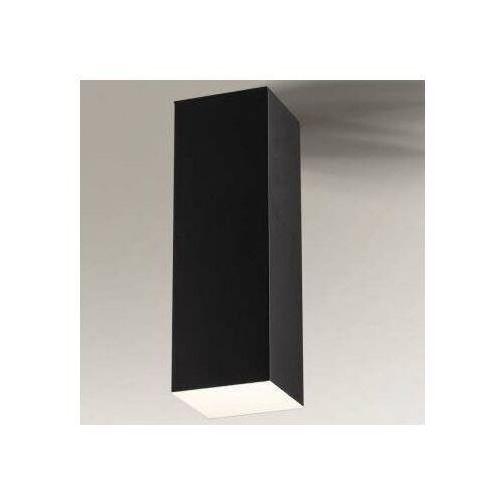 Natynkowa lampa sufitowa suwa 1177 metalowa oprawa prostokątna czarna marki Shilo